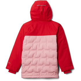 Columbia Grand Trek Down Jacket Kids red lily/pink orchid